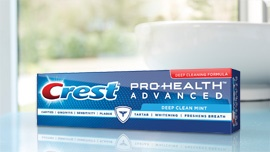 Crest Pro Health has the Seal for enamel erosion and 6 other attributes