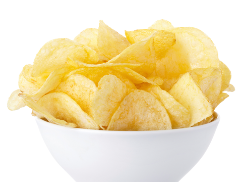 Image of Potato Chips for Slideshow