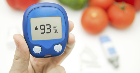 Blood sugar monitor for diabetes