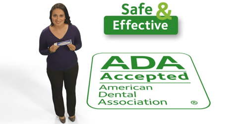 ADA Seal of Acceptance is safe and effective