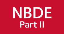 NBDE Part II red color box