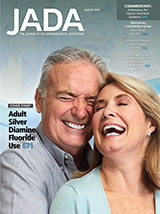 Image of August 2018 JADA cover
