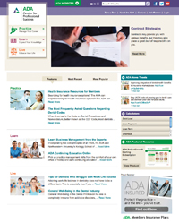 ADA Center for Professional Success Homepage