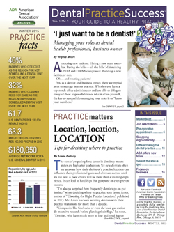 Winter 2015 Dental Practice Success