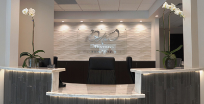 dental office reception. Photo Of Reception Area At Drs. Brett McRay And Heather Robbins Dental Practice Office T