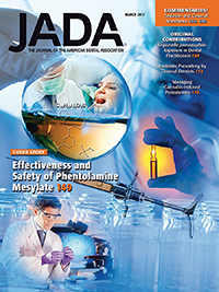 Image of March 2017 JADA cover