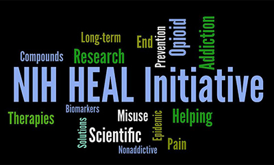 Collage of HEAL initiative goals