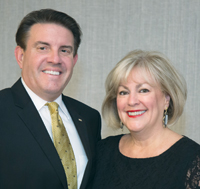 Dr. Cole and wife Linda