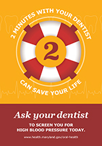 Maryland Department of Health campaign: 'Two minutes with