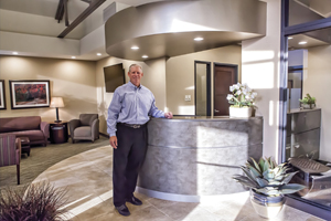 Designing For The Future: Dr. John F. Dahm Stands In His Hutchinson,  Kansas, Dental Office, Which Won Dental Office Design Of The Yearu2014Small  Practice.