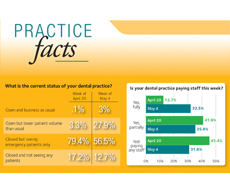 Infographic of Practice Facts from DPS 2020 Spring issue