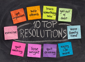 post its of resolutions
