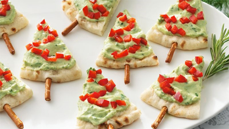 Pita Tree Appetizers from Betty Crocker