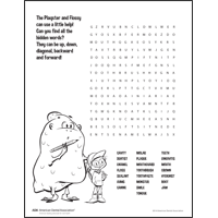 Monster Word Search