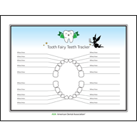 Tooth Fairy teeth tracker