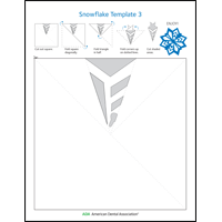 Image of snowflake activity sheet