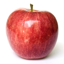 large red apple