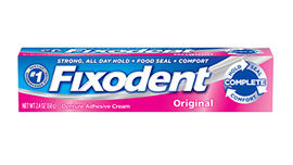 Fixodent's Original Dental Adhesive
