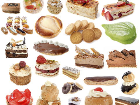 visions of sweets and cakes