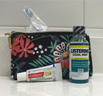 Travel size dental care products