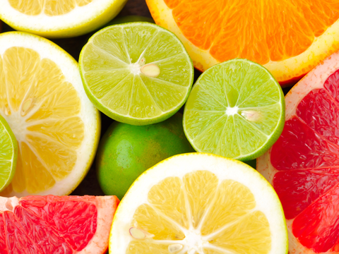 Image of citrus fruits that are bad for your teeth for slideshow
