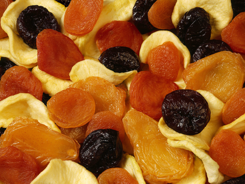 Image of dried fruit for slideshow