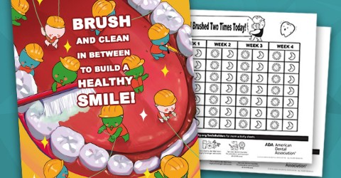 National Children's Dental Health Month 2019 posters and activities